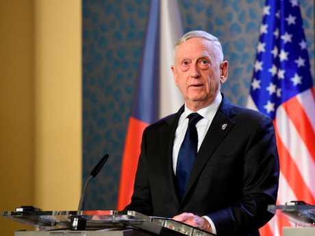 美国国防部长马提斯。