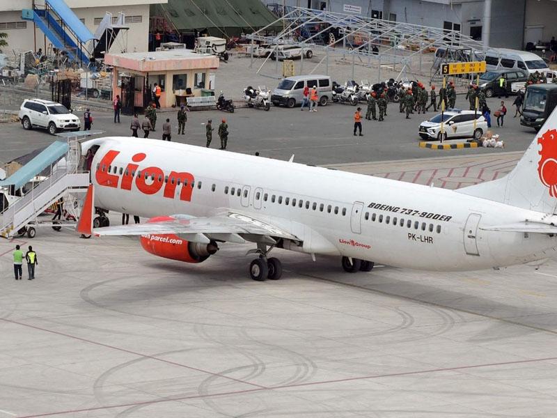 印尼狮航JT610航班坠毁。(资料图片)