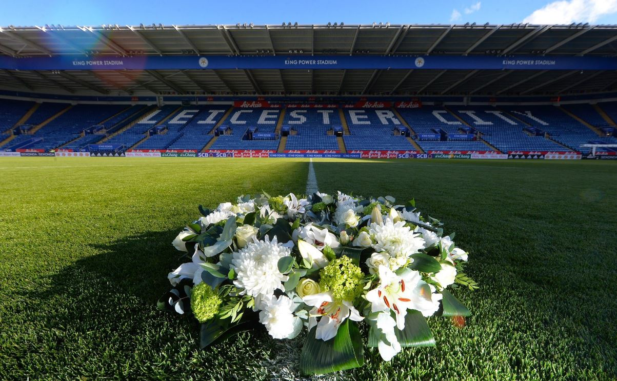 李斯特城在球场摆放悼念吊唁册让公众悼念。李斯特城twitter