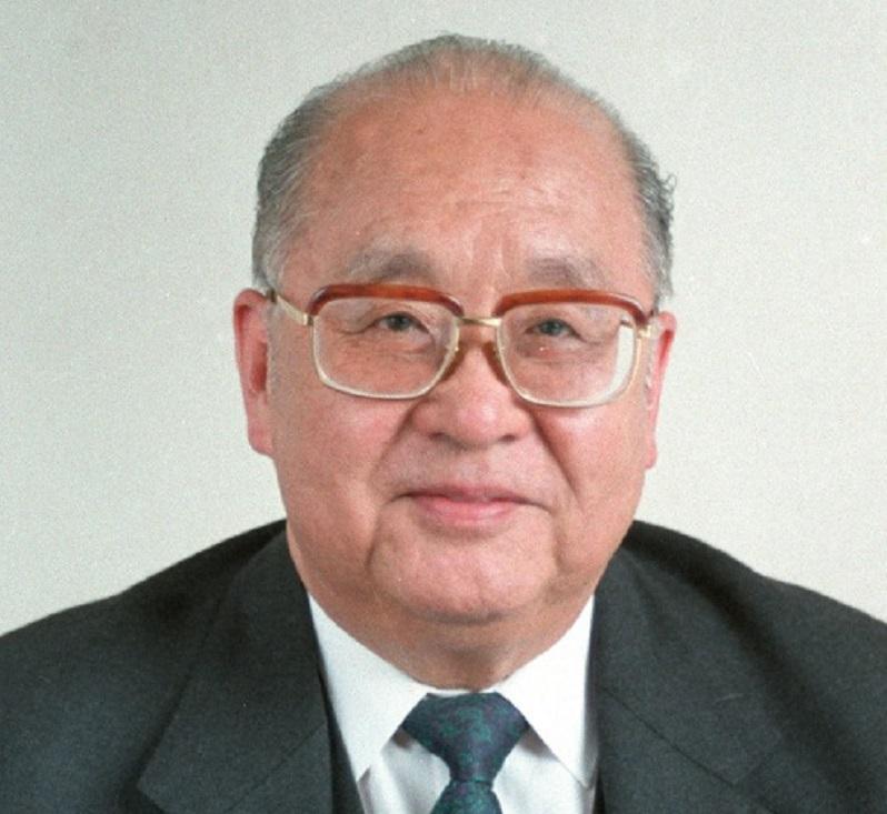 王光英。新華社圖片