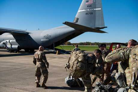 美国国防部早前表示,已确认可对墨西哥边界部署约7000名现役军人。