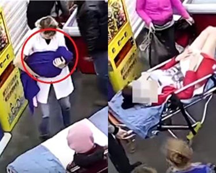 俄罗斯孕妇用11分钟极速生仔。网上图片