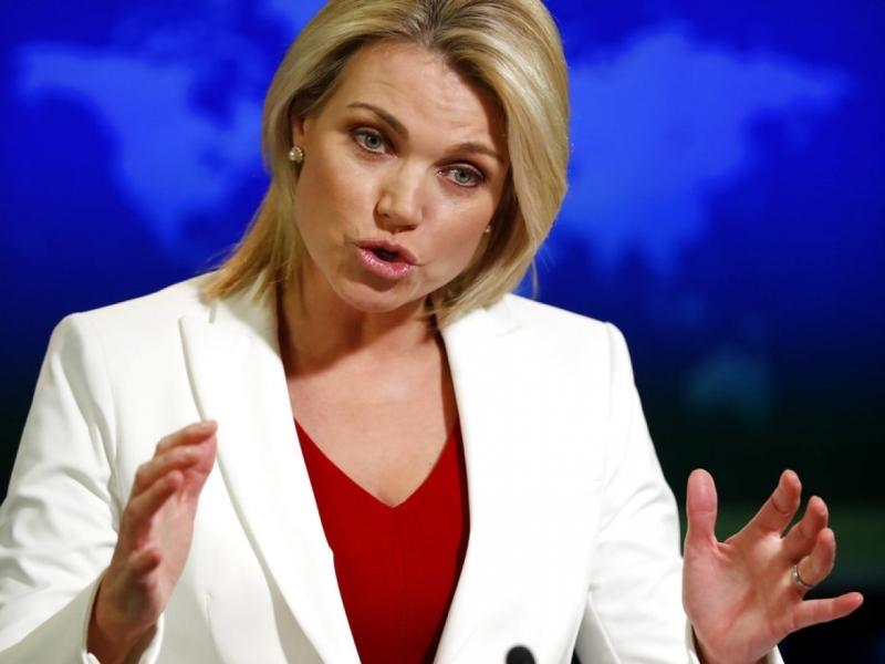 美国总统特朗普表示,正认真考虑提名国务院发言人诺尔特,成为下一任美国驻联合国大使。