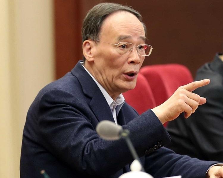 王岐山下周將出席中美新經濟論壇,首次公開談論貿易戰。資料圖片