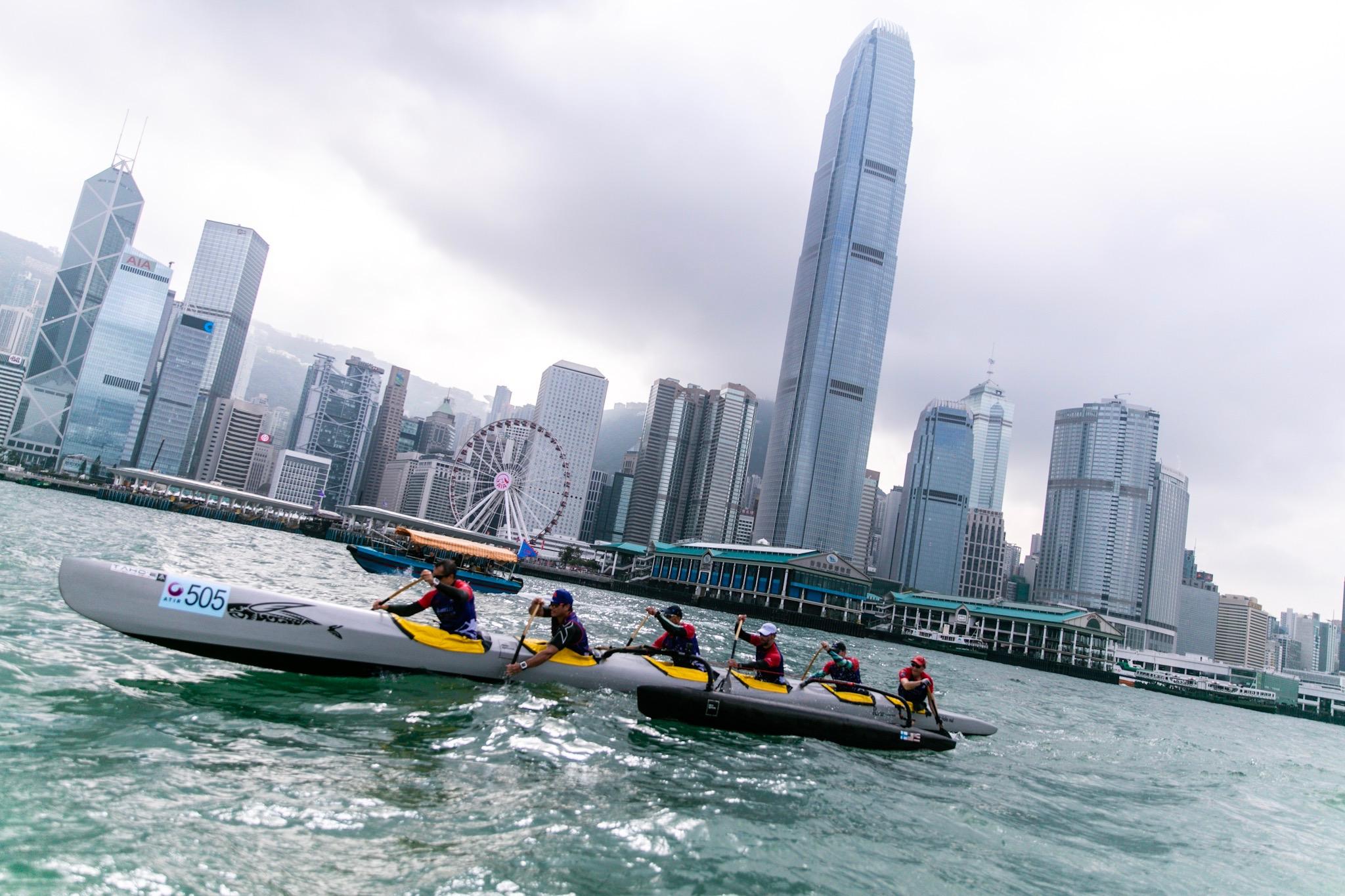 比賽路線途經銅鑼灣、石澳和赤柱等不少景點,猶如一場海上馬拉松。 相片由公關提供