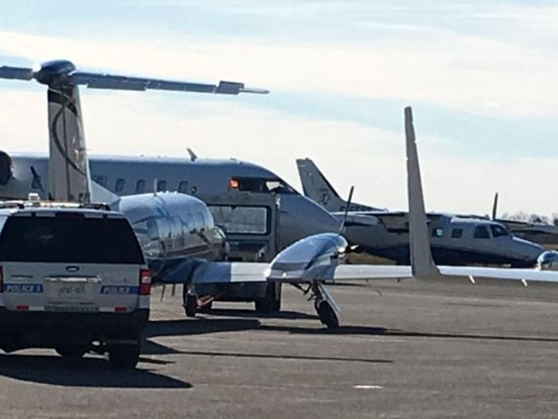 加拿大渥太華兩架小型飛機空中相撞,據報一架墜毀機中有1人死亡。(網圖)