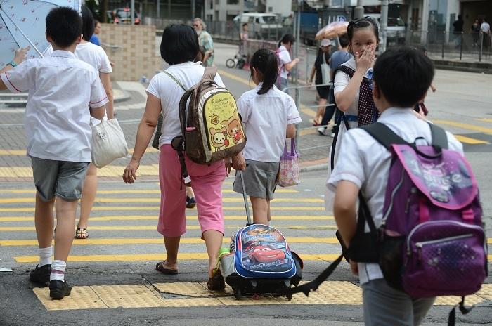 小學考生在普通話考試的成績普遍下降,不合格的人數上升25%。資料圖片
