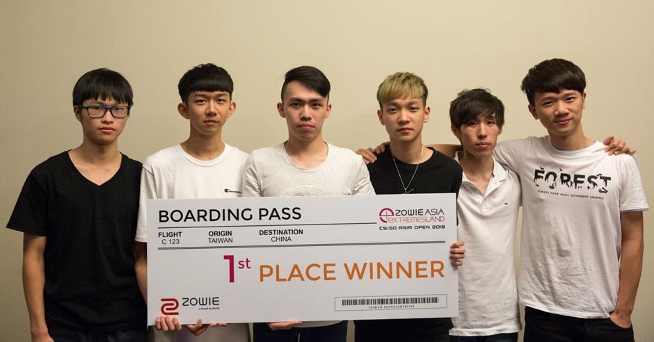 台灣電競隊出戰國際賽事時,主辦單位因賽區問題取消他們資格。Crazy Face Facebook