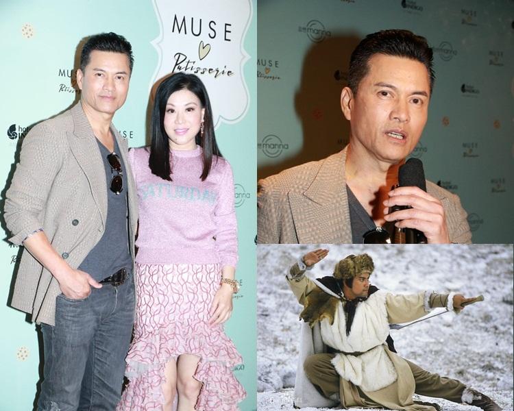 呂良偉與太太現身活動,表示金庸是其偶像,不捨對方離開。