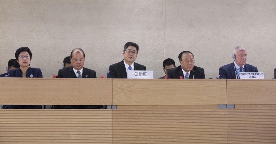 中國外交部公布30項措施,回應聯合國人權理事會昨日審查中國人權狀況。新華社