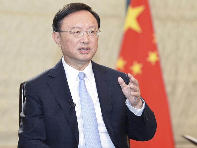 中共中央政治局委員楊潔篪(新華社資料圖片)