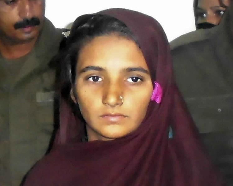 巴基斯坦女基督徒比比終免去死刑獲釋。AP