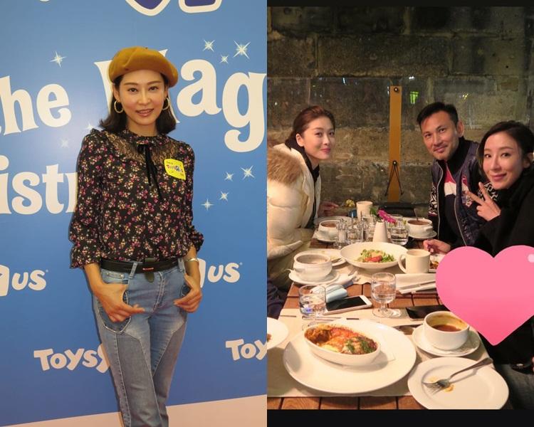楊怡因為周勵淇貼幫她遮肚照被指懷孕,家姐楊卓娜就話不知道。