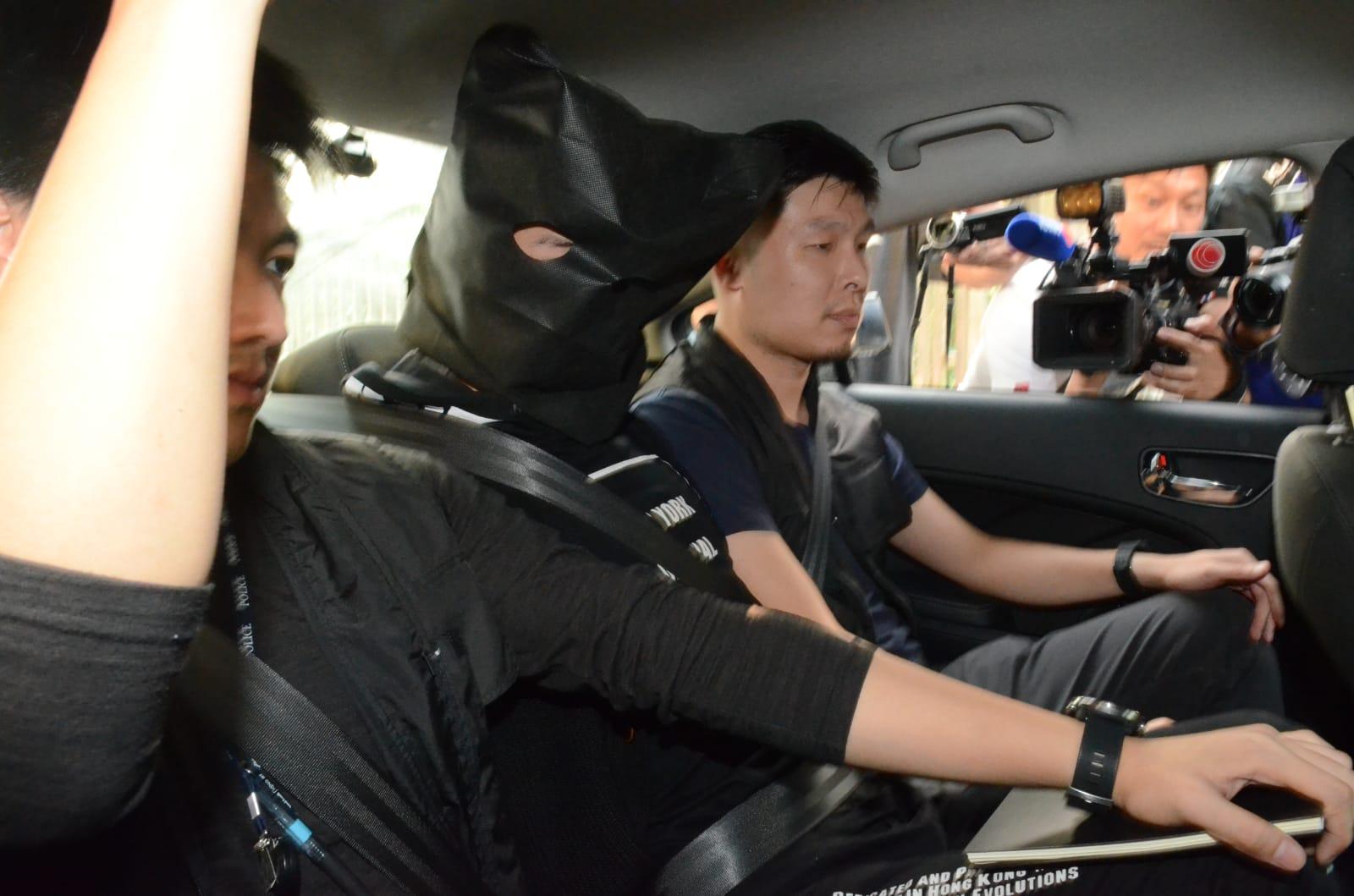 被捕的22歲疑犯。