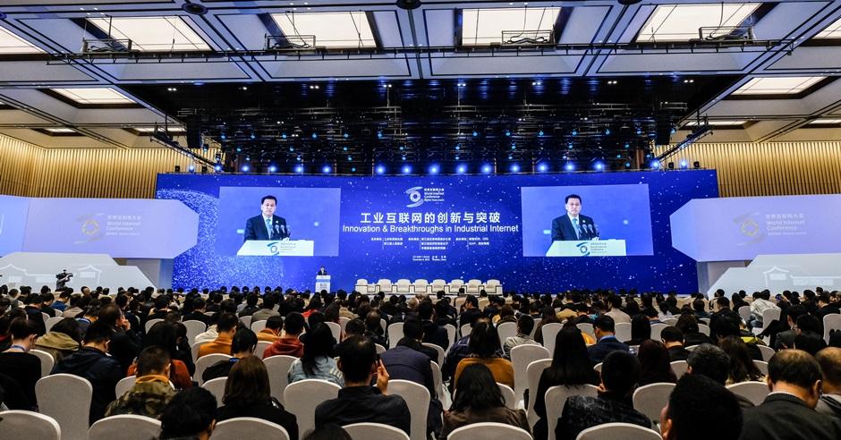 第五屆世界互聯網大會昨日在浙江烏鎮開幕。新華社
