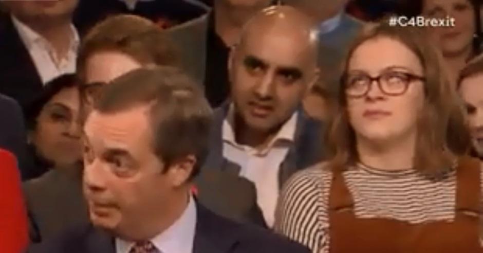 埃利斯以白眼回應脫歐言論在網上瘋傳。網上截圖