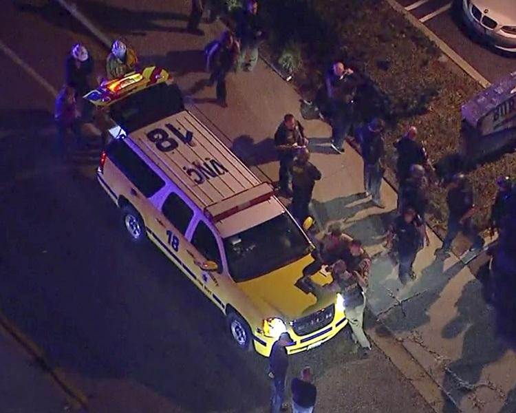美加州酒吧槍擊案死亡人數增至13人。AP