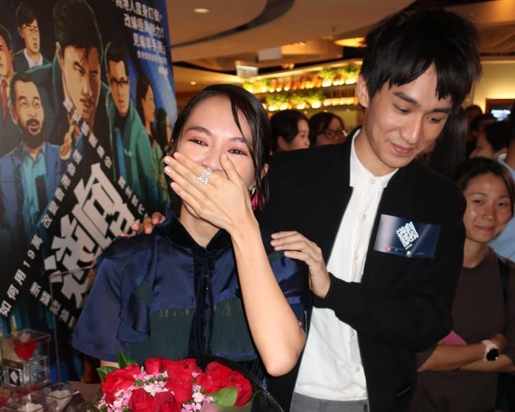 蘇麗珊、吳肇軒出席首映禮。