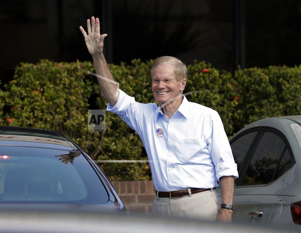 民主黨的尼爾森。AP圖片
