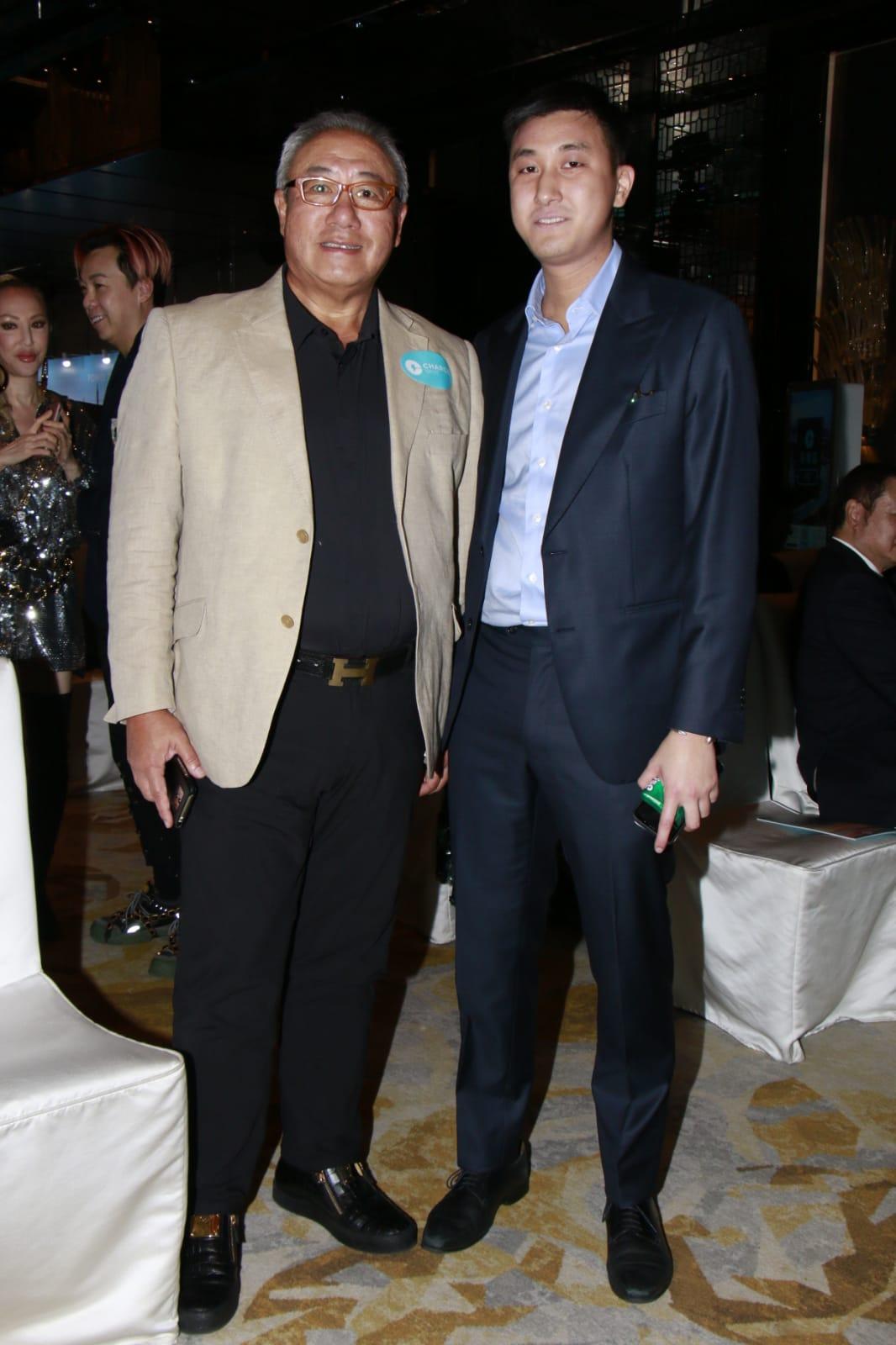 馬清偉與長子
