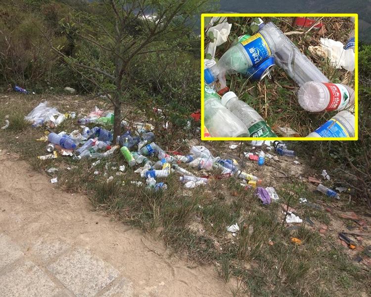 麥理浩俓滿佈垃圾。 Ieong Chun Yiu圖片