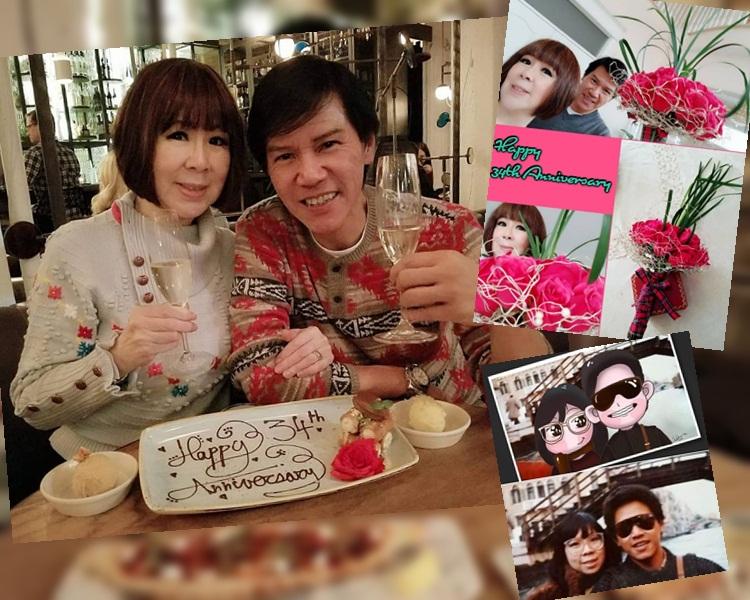 林嘉華與太太34年來愛不變。(ig圖片)