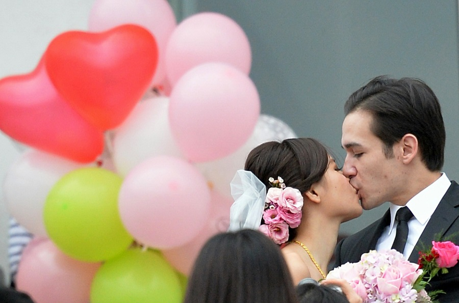 調查發現,受訪準新人的結婚平均開支為360577元,較去年增加9%。資料圖片