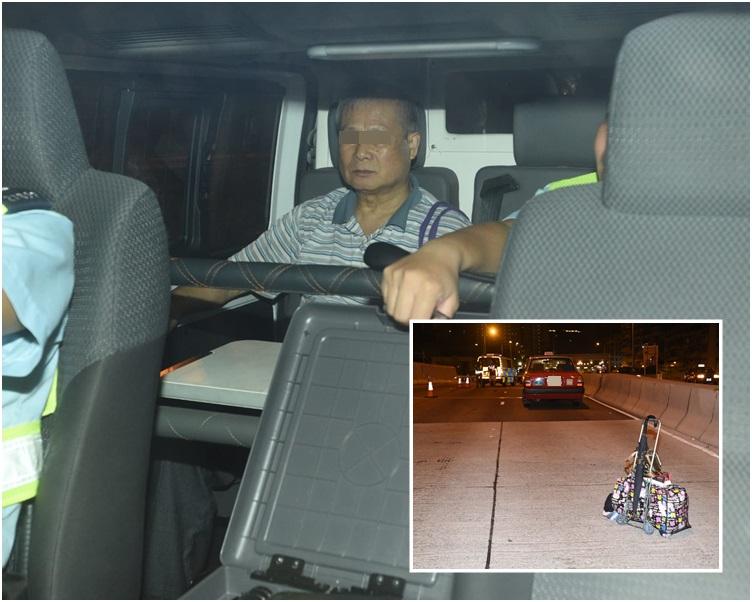 的士司機,涉嫌危險駕駛導致他人嚴重受傷被捕。