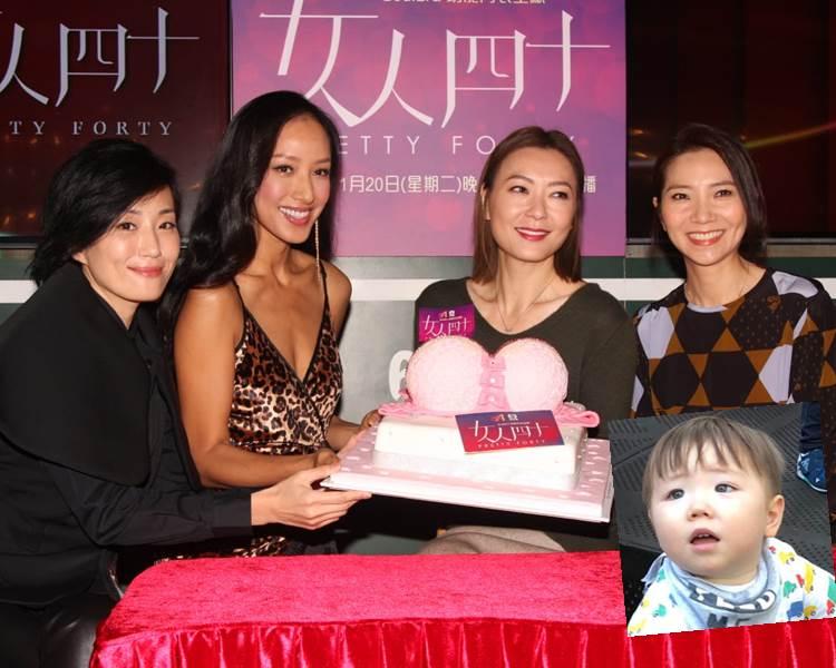 谷祖琳、蔣怡、田蕊妮及車婉婉有份拍攝節目《女人四十》。(資料圖片、ig圖片)