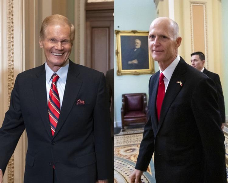 左:纳尔逊、斯科特。