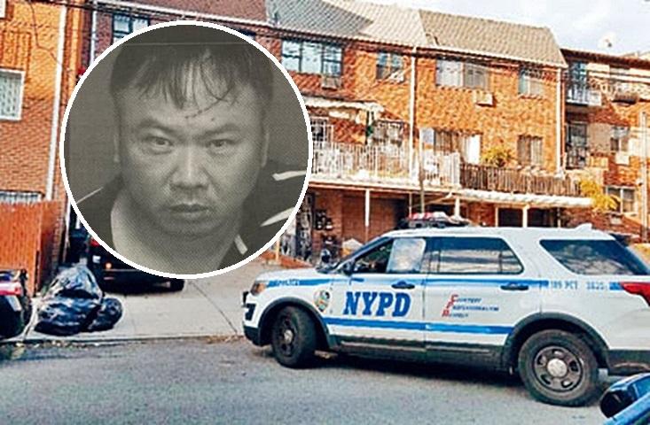 警方怀疑兇手为52岁的华裔男性室友林赛春(音译,小图)。