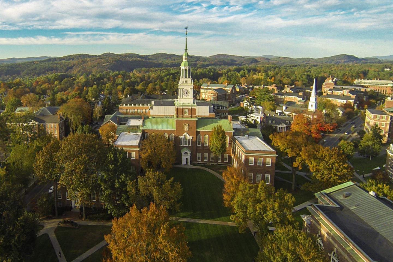 美國新罕布什爾常春藤名校達特茅斯學院(Dartmouth College)爆出教授涉嫌性侵女生醜聞。網圖