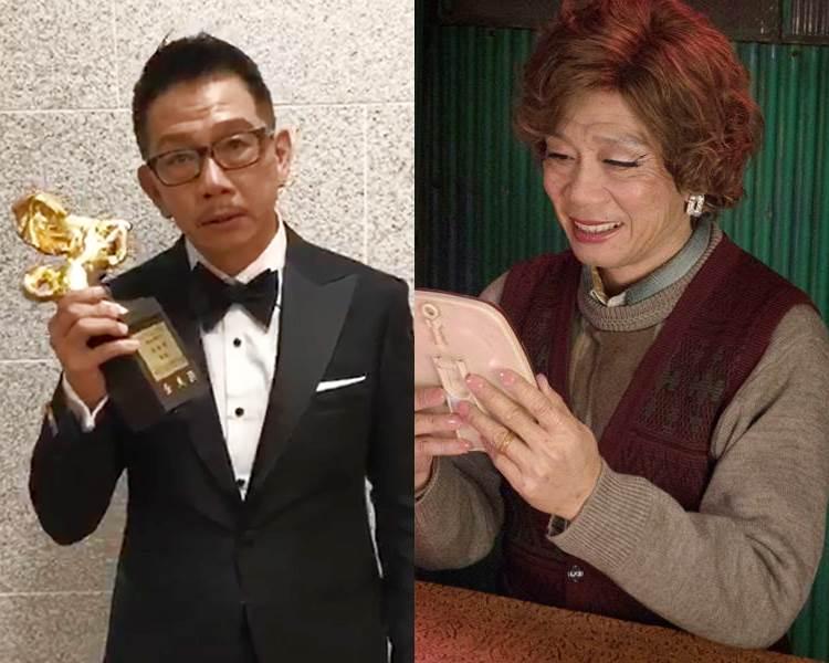 袁富華入行30年,首奪金馬男配。(截圖、《翠絲》劇照)