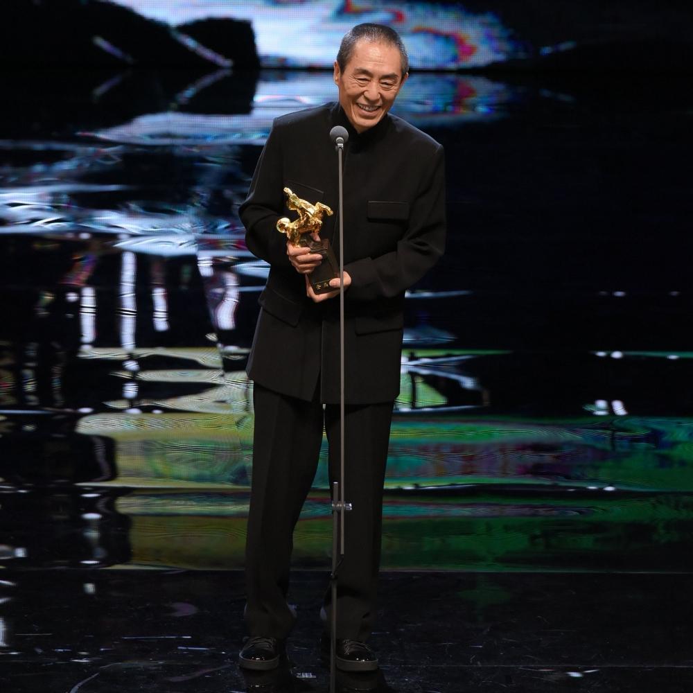張藝謀當導演40年,首奪金馬最佳導演獎。(Facebook圖片)