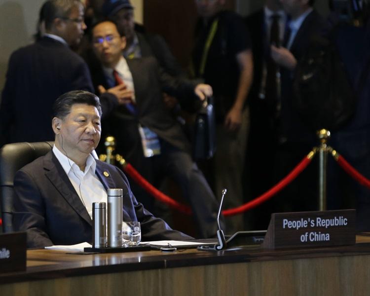 對於被指企圖影響APEC公報內容的報道,中方指是別有用心。AP