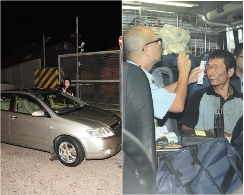 旺角搜車檢藍精靈 拘44歲迷糊漢