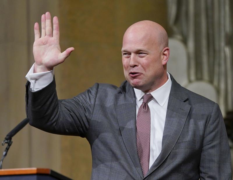 美国民主党入稟指署理司法部长惠特克(图)的任命违宪。