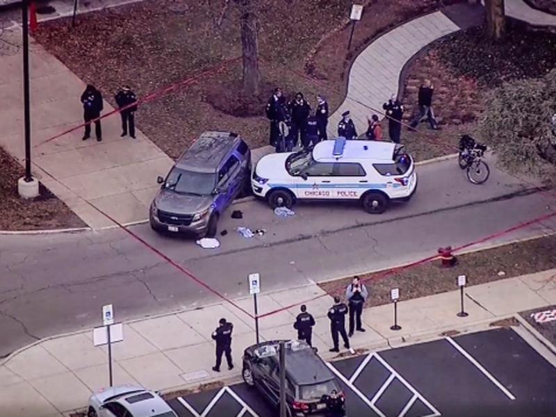 事发在芝加哥市南部,警方赶到疏散医院内的人,并封锁附近範围调查。(网图)