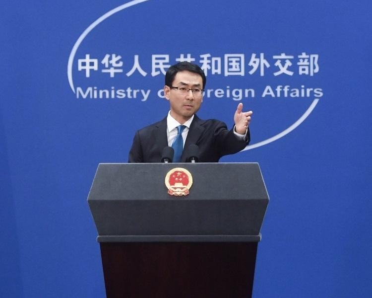 中國外交部發言人耿爽表示中國在APEC盡了最大努力,而美國則破壞會議和諧。新華社
