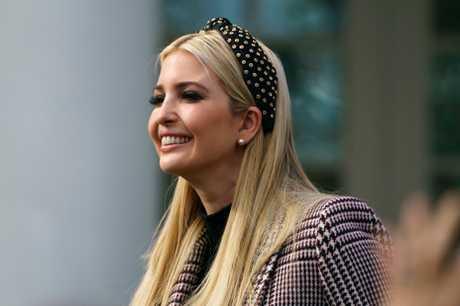 担任白宫高级顾问的美国总统特朗普女儿伊万卡。