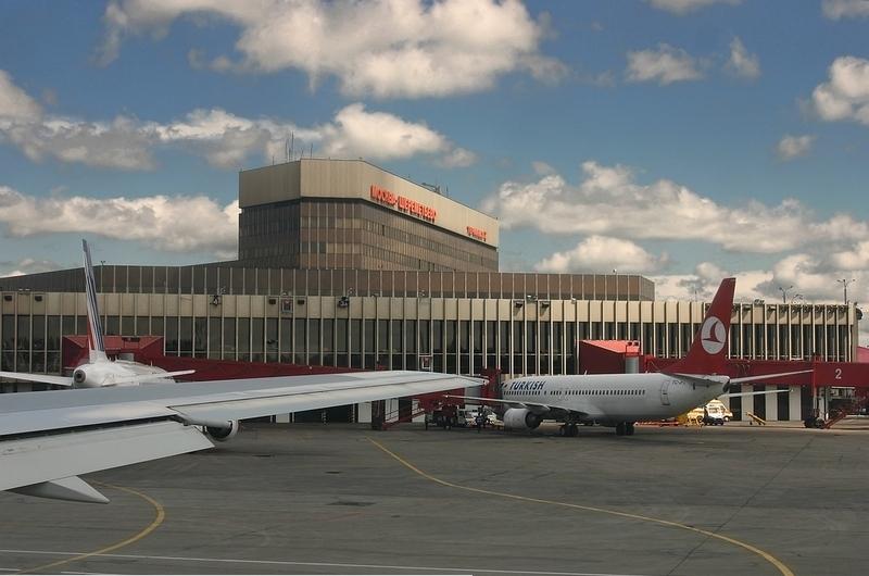 莫斯科谢列梅捷沃国际机场。(资料图片)