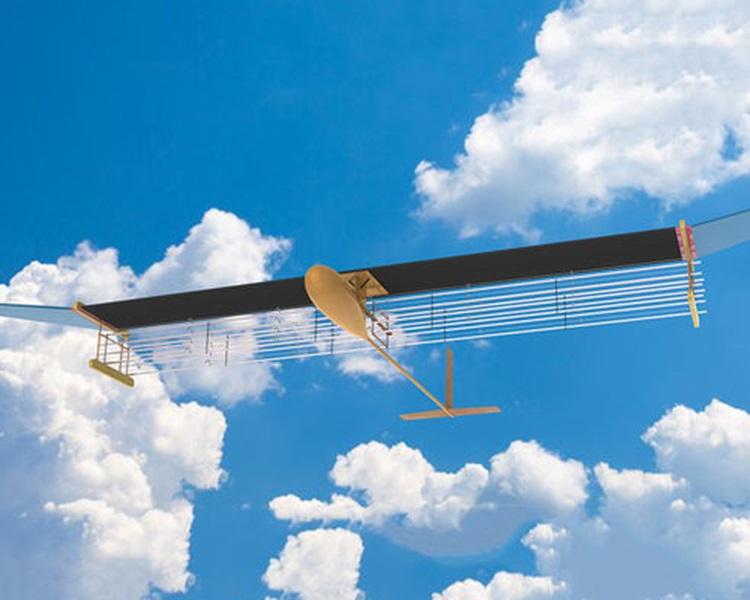 麻省理工学院研发出以离子风推动的飞行器。网图