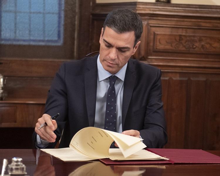西班牙首相桑切斯重申若脫歐協議不就直布羅陀問題作修改,,西班牙將會否決。AP