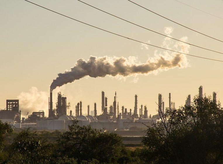 報告指氣候變化正在損害全球經濟。網圖