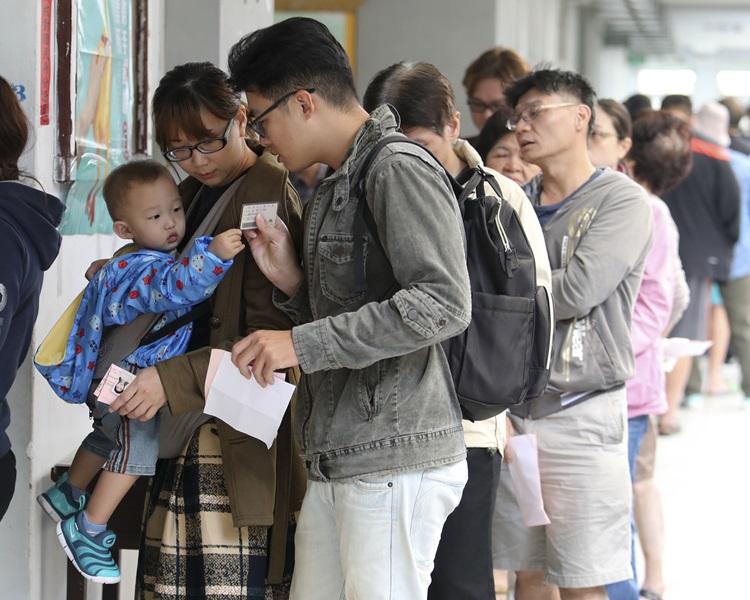 嘉義縣在今次選舉賄選情況最嚴重。AP