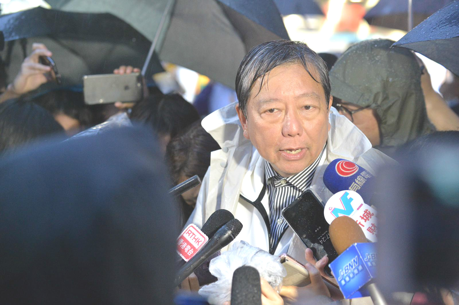 李卓人希望爭取多些仍未決定出來投票的選民支持