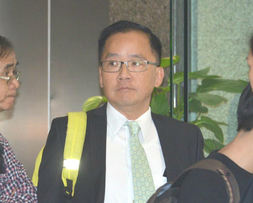 快將退休的九龍城區副指揮官黃基偉。
