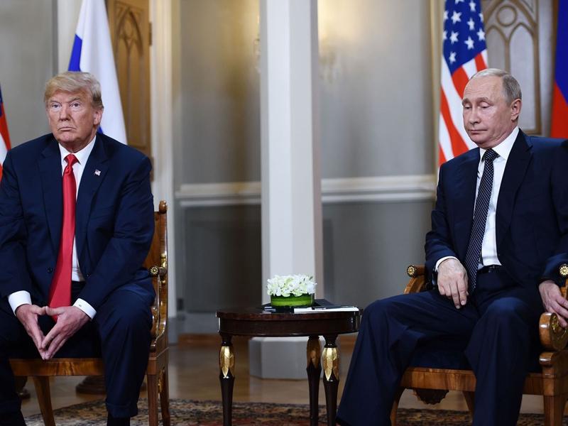美國總統特朗普表示,因應俄羅斯和烏克蘭海上衝突事件,可能取消與俄羅斯總統普京的會面。(網圖)