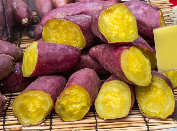 日本番薯。網上圖片