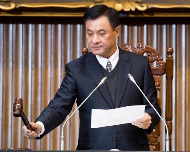 有傳立法院院長蘇嘉全疑辭職以競選民進黨主席。網圖